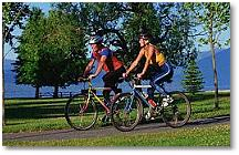 Biking Minocqua Wisconsin